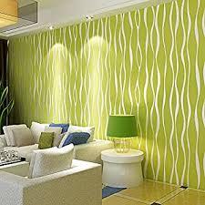zzyy vlies tapete grün toner farbe streifen modernen