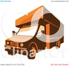 Clipart Of A Retro Brown And Orange Toned Delivery Van Or Moving ... Clipart Of A Grayscale Moving Van Or Big Right Truck Royalty Free Pickup At Getdrawingscom For Personal Use Drawing Trucks 74 New Cliparts Download Best On Were Images Download Car With Fniture Concept Moving Relocation Retro Design Best 15 Truck Stock Vector Illustration Auto Business 46018495 28586 Stock Vector And