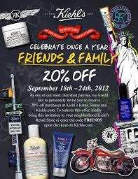 Kiehl's Friends & Family Sale! - Blushing Noir
