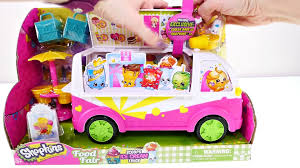100 Toy Ice Cream Truck Play Doh Shopkins Shopkins Food Fair Surprise
