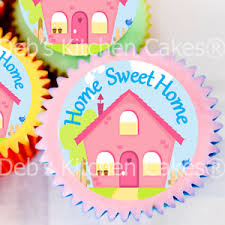 Image Is Loading New Home Cake Toppers House Warming Cupcake