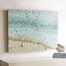 Coastal Mosaic Wall Panel