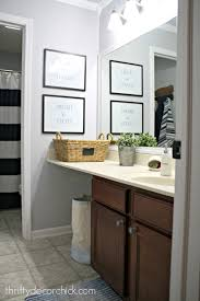 master bathroom reno plans from thrifty decor chick