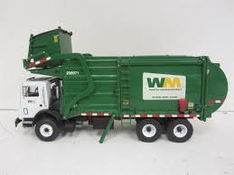 Lot 2 Die Cast Trucks W/ WM Waste Management Garbage Truck & Mack ...