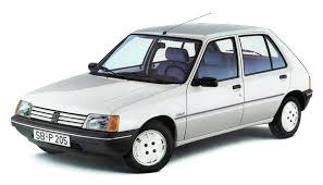1983 1994 PEUGEOT 205 specifications