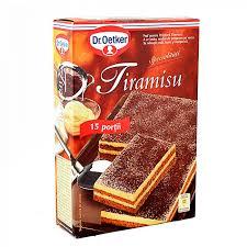 dr oetker cake mix tiramisu 370g
