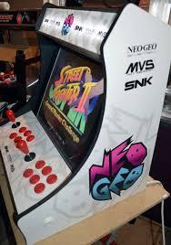 Mortal Kombat Arcade Machine Uk by White Neo Geo Themed Bartop Arcade Machine Mame Pinterest
