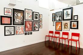 Graphic Design Office Ty Mattson Southern California Gallery Wall