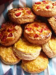 cuisine ecossaise scones aux fraises et scones a la vanille c est tres facile a faire