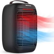 vogek energiesparend heizlüfter slaouwo heizgerät elektrische heizung 1000w 3 modi raumheizkörper überhitzungs und umkippschutz für haus büro