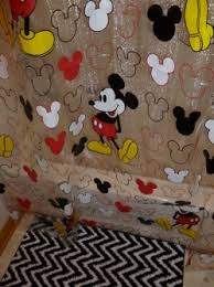 Mickey Mouse Rug The Application of Mickey Mouse Shower Curtain