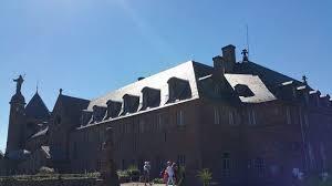 monastère du mont sainte odile photo de couvent du mont sainte