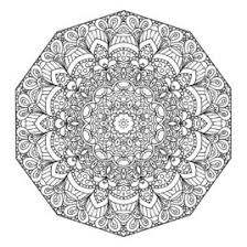 Mandala Coloring Page Printable Pages Design