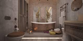 dekorputz im badezimmer 61 fotos dekoration der wände des