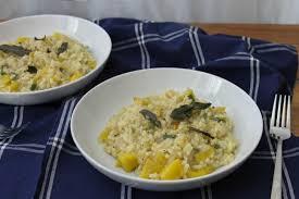Pumpkin Risotto Recipe Vegan by Pumpkin Risotto With Brown Butter Sage U2013 Bryony U0027s Kitchen