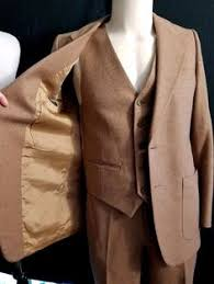 Vintage YVES Saint LAURENT French Tweed 3 Piece Suit 38 Jacket 30 28 Short Pants