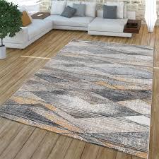 wohnzimmer teppich kurzflor geometrisches real de