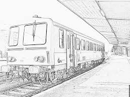 Locomotive Et Wagons À Colorier Et Pour Illustrer Des Comptines