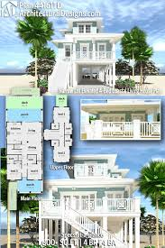 100 Modern Beach House Floor Plans Architectural Designs Plan 44161TD Gives You 4