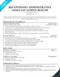 Resume Objective Examples Administrative Assistant Position Of Example Sales Best