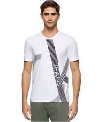 calvin klein jeans men u0027s texture play graphic print logo v neck t