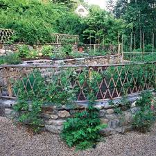 Stone Wall Ideas Veg GardenVeggie