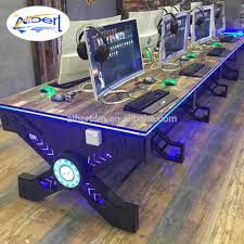 Furinno Computer Desk 11193 by Table Computer Games Basement Video Game Room Design Idea With