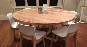 Round Dining Table For 6 Modern Home Design Pertaining To Prepare 7