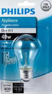 light bulbs for microwave refrigerator oven range hoods