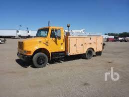 100 Used Service Trucks International 4700 Utility
