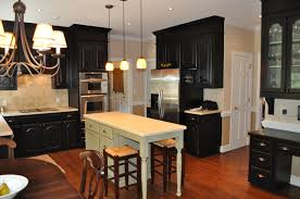 Kitchen Soffit Color Ideas by The Collected Interior Black Painted Kitchen Cabinets Lacquer