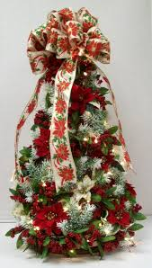 Flocked Christmas Trees Vancouver Wa by The 25 Best Poinsettia Tree Ideas On Pinterest Christmas Tree