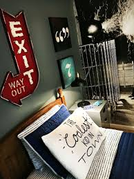 Teen Boy Bedroom Industrial Look