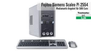 si e pc fujitsu siemens scaleo pi 2554 media markt pc computer bild