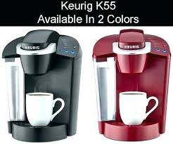 Keurig Coffee Maker Colors Color Review Colored 2 K55 Red