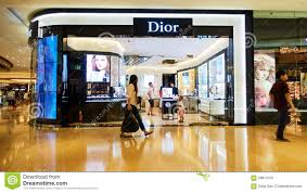 Dior Fashion Store Shop Front