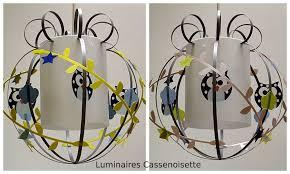 suspension luminaire chambre garcon une suspension hibou pour un petit garçon luminaire enfant