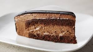 of Rich Chocolate Mousse Cake