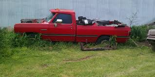 100 Pickup Truck Sleeper Cab RT 1993 Dodge Ram 2500 Regular Laramie 2D 8 Ft