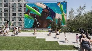 Harlem Hospital Mural Pavilion by New York U0027s Best Public Art Installations