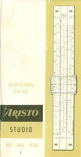 100 Aristo Studios Studio Instructions