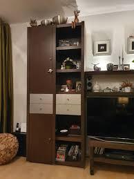schrankwand wohnzimmer v mömax farbe wenge