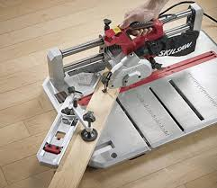 Cut Laminate Flooring With Miter Saw by Skil 3601 02 Flooring Saw With 36t Contractor Blade Amazon Com