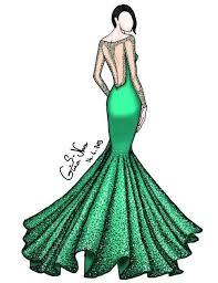 Dress Draw And Fashion Image