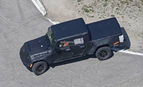 2019 Jeep Wrangler Pickup Truck Spied, Prototype Tries To Hide Its ... Jeep Scrambler Pickup Truck Jt Quadratec Wranglerbased Production Starting In April 2019 What Name Would You Like The All New To Be 2018 Wrangler Leak 2400 X 1350 Auto Car Update Spy Photos Of The Old Vintage Willys For Sale At Pixie Woods Sales Pics Page 5 Filejpcomanchepioneerjpg Wikimedia Commons 1966 Jseries Near Wilkes Barre Pennsylvania Pickup Truck Spotted By Car Magazine To Get Stats Confirmed By Fiat Chrysler You