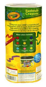 crayola bathtub crayons 9 count amazon ca beauty