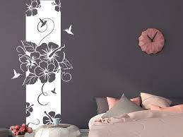 wandtattoo banner hibiscus wandbanner wandtattoo de