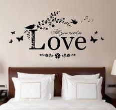 Bedroom Exquisite Creative Bedroom Wall Decor Ideas Perfect Wall