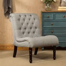 Burke Slipper Chair With Buttons by Angel Linen Slipper Chair Products Pinterest Best Products Ideas