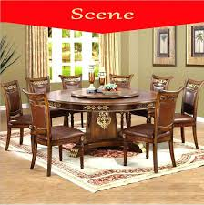 Italian Dining Room Tables Modern Style Table Solid Wood Luxury Set In